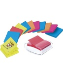POST-IT® SuperS Z-N dispens m/12 stk. blokker 76x76mm hvit HK10010196