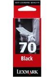 Blekk LEXMARK 12AX970E serie 70 sort