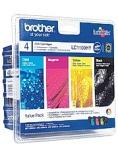 Blekk BROTHER LC1100HY A3 sort + CMY (4)