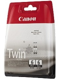 Blekk CANON BCI-6BK Twin pack sort (2)
