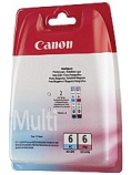 Blekk CANON BCI-6 PC/PM Multipack (2)