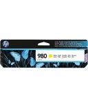 Blekk HP 980 D8J09A 6.6K gul