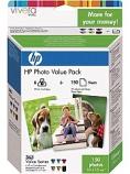 Blekk HP 363+papir Advanced gloss (150)