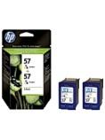 Blekk HP C9503AE serie 57 farge (2)