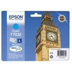 Blekk EPSON C13T70324010 L 1.2K blå