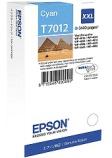 Blekk EPSON C13T70124010 XXL 3.4K blå