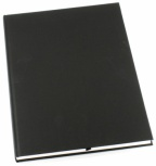 Skrivebok Grieg Paginert sort A4 linj. 192s. 267810