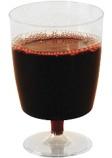 Plastglass vin 20cl fast stett (10) (org.nr.1420)