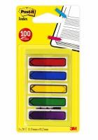 POST-IT® Index 684 piler 5 farger (5x20stk.) 70071353604