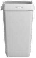 Papirkurv Katrin plast 25L hvit 91899