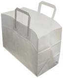 Bærepose papir (250) 17L hvit 61850-027