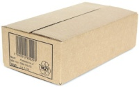 Posteske 2 250x130x70mm brun (Org.nr.1000060)