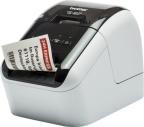 Etikettskriver Brother QL800ZW1 skriver sort/rødt m/DK22251