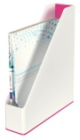 Tidsskriftkassett Leitz Wow Dual rosa/hvit 53621023