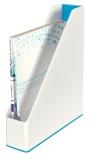 Tidsskriftkassett Leitz Wow Dual blå/hvit 53621036