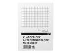 Kladdeblokk EMO A6 60g 100s ruter (org.nr.533636020)