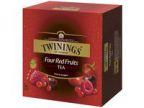 Te TWININGS Fire røde frukter (100) (org.nr.122405)