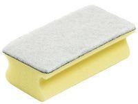 Svamp JIF m/grep gul med hvit pad (5) 2620