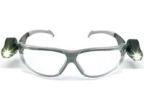 Vernebrille 3M m/LED lys klar linse 1135600M