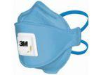 Støvmaske 3M m/ventil FFP2 blå (10) 9422P