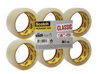 Pakketape Scotch® transp 50mmx66m (6) (org.nr.UU005262850)