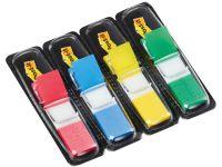 POST-IT® Index 683-4 liten rød/gul/bl/gr 70071353570