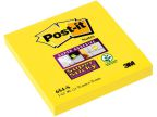 POST-IT® SuperS 76x76mm 654-S gul FT510093741