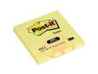 POST-IT® notatblokk 76x76mm resirk gul FT510004607