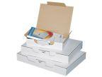 Posteske låseklaff 200x140x75mm hvit(25)(Org.nr.90157)