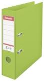 Brevordner ESSELTE No1 A4 75mm sk. lys grønn (org.nr.624069)