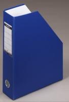 Tidsskriftkassett Esselte Maxi A4 blå sammenleggb. 56005