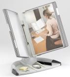 Bordstativ Tarifold T-office l.grå m/10lom. grå 734300
