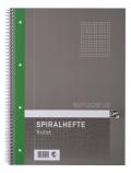 Spiralhefte EMO A4 70g 80 blad ruter (org.nr.203024)