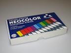 Kritt ass.farge firkantet (12) Neocolor 15P