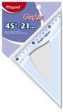 Vinkel Mapde 45grad.21cm. for oppheng 242421