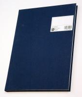 Protokoll A4 ulinjert 96 blad blå (org.nr.270115)