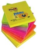 Post-it Z-Notes 6bl. ass.farg.neon 76x76 R330NR