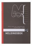 Meldingsbok A6 paginert 48s. 7120