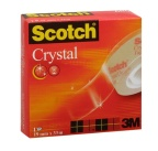 Tape Scotch Crystal 600 19x33 klar Scotch