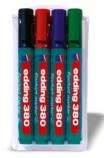 Flippoverpenn Edding 380 4 ass.farg. rund 1,5-3mm 380/4S