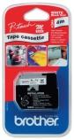 Tape Brother MK221BZ sort/hvit 9mmx8m M-tape