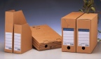 Tidsskriftkassett Handy A5 brun papp 20241005