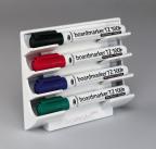 Whiteboard penneholder magn. for Edd./Art./Bic