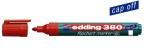 Flippoverpenn Edding 380 rød rund 1,5-3mm