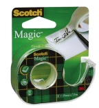 Tapedispenser Scotch m/19mmx7.5m. Magic 810 8-1975D