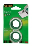 Tape Scotch Magic 810 19x7.5m. refill (2) 8-1975R2