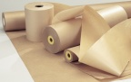Pakkepapir 40cm. 60gr. 5kg. brun kraft 192m.