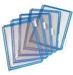 Lomme Tarifold A4 blå toppåp. F2825021
