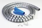 Kabelstrømpe Offitec sølv 6020