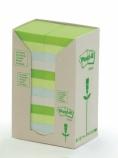 POST-IT® Green Line 38x50mm ass frg (24) FT510110396